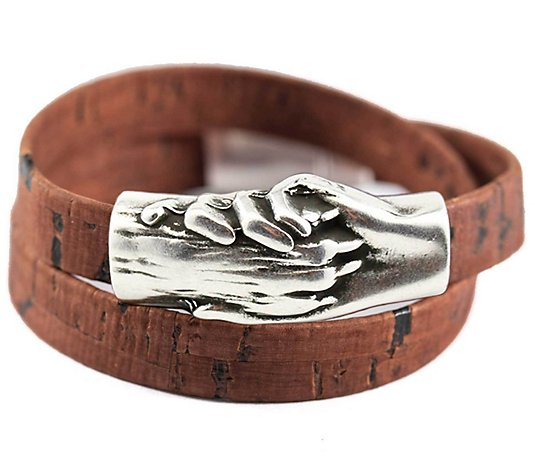 Hand & Paw Project Cork Wrap Dog Bracelet