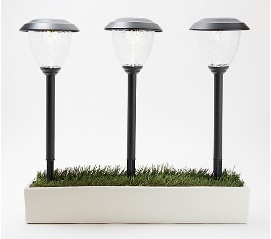 Sterno Home Set of 6 Roaming Solar Pathway Light Set