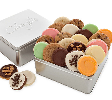 Cheryl's Deluxe Assorted Gift Tin - 24 Cookies