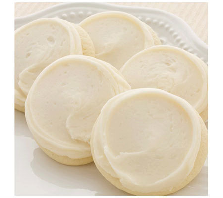 Cheryl's 34pc Buttercream Frosted Cutout Cookies