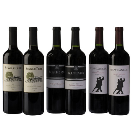 Cabs are King Six-Bottle Set by Vintage Wine Estates