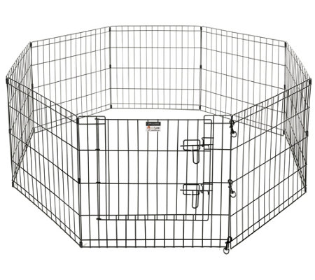 Pet Trex 24 Playpen For Dogs Eight 24 Wide X24 High Panels