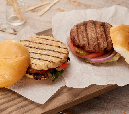 Rastelli Market Fresh (30) 5-oz Sirloin or Turkey Burgers