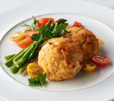 The Great Gourmet (12) 4-oz Crab Cakes Auto-Delivery
