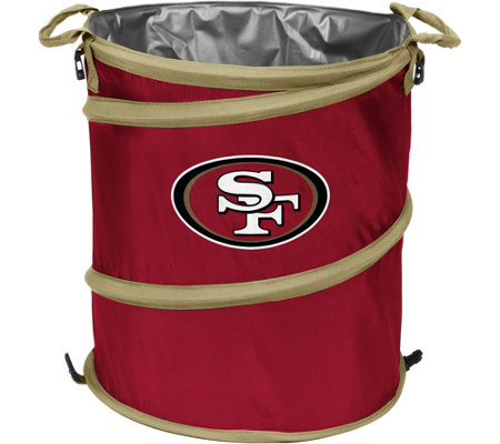 NFL Collapsible 3-in-1 Cooler, Hamper andWastebasket