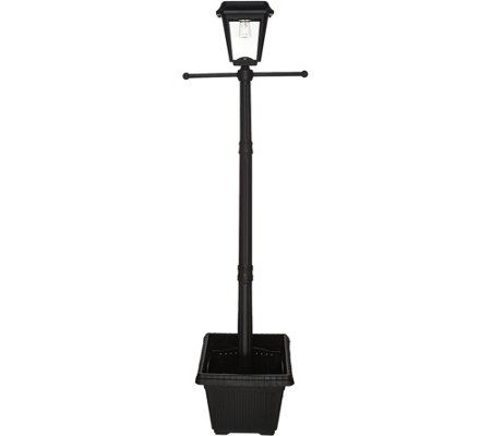 Paradise Solar Post Lamp with Planter