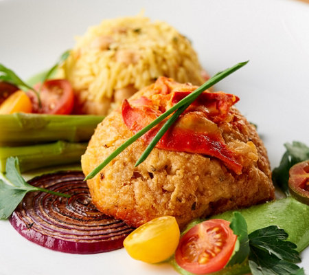 Graham & Rollins (8) 4oz Lobster Crab Cakes Auto-Delivery