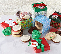SH12/3 Cheryl's 32-pc Cookie Assortment w/ 8 Holiday Gift Boxes - M59312