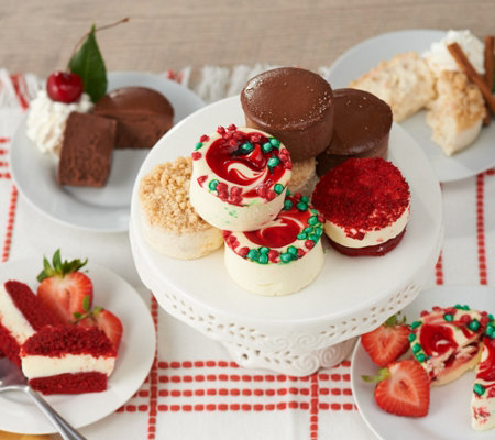 Junior's 32 Holiday Mini Cheesecakes & Layer Cakes