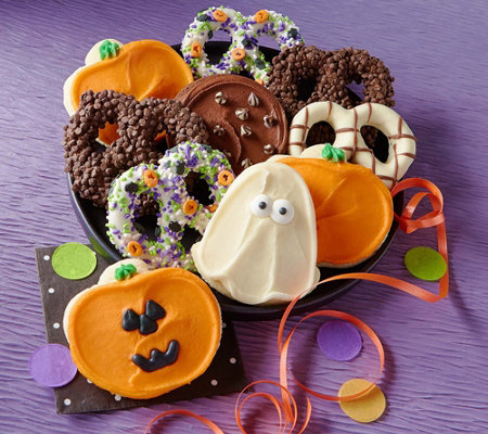 Cheryl's 10-Piece Halloween Cookies and Pretzels