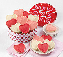 Cheryl's 16-Pc Valetine's XO Heart Tin - M120414
