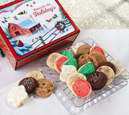 SH 11/5 Cheryl's 36-Piece Grand Holiday Cookie Box