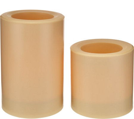 Candle Impressions Set of 2 Solar Color Change Candle Set