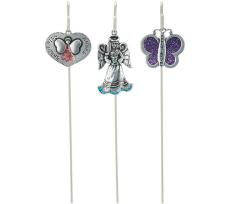 Inspirations by Catherine 3-piece Garden Stake Set