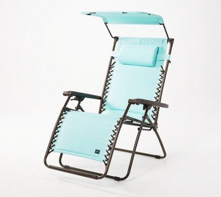 Bliss Hammocks XL Gravity-Free Padded Recliner with Canopy