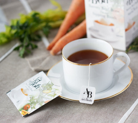 The Art of Broth 20 Savory Flavored Sipping Broth Packets