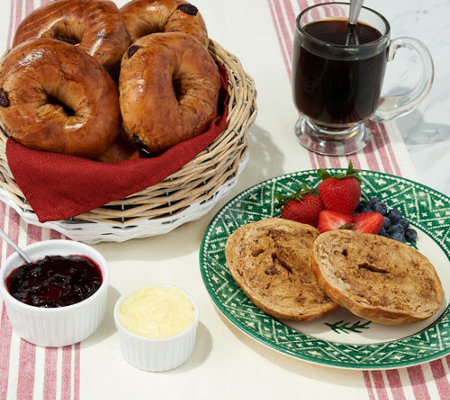 Sh 12 2 Just Bagels Nyc Kettle Boiled 24 4 Oz Bagel Holiday Sampler
