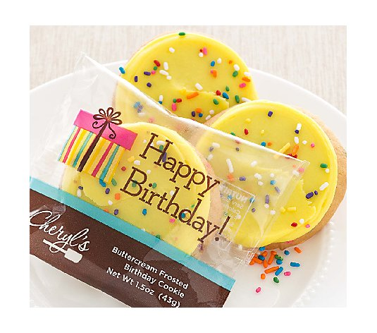 Cheryl's 30pc Birthday Cake Cookies