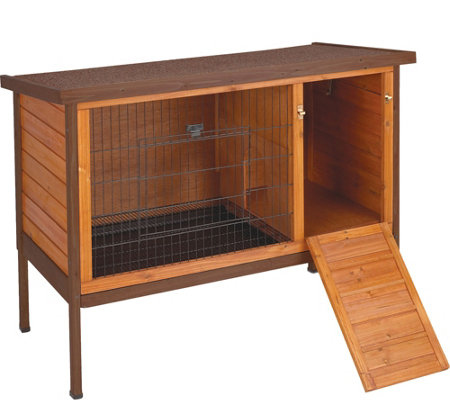 Premium Plus Rabbit Hutch, Large