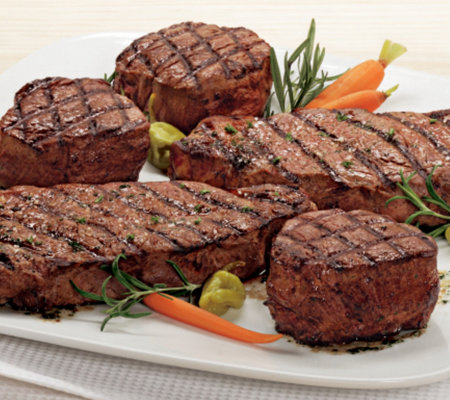 Kansas City Steak Filet Mignons and Strip SteakCombo
