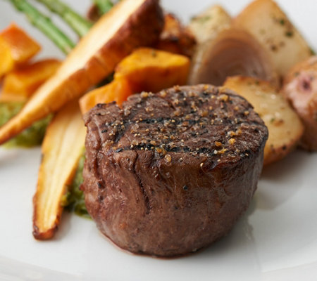 Kansas City Steak Company (4) 5-oz Filet Mignon Auto-Delivery