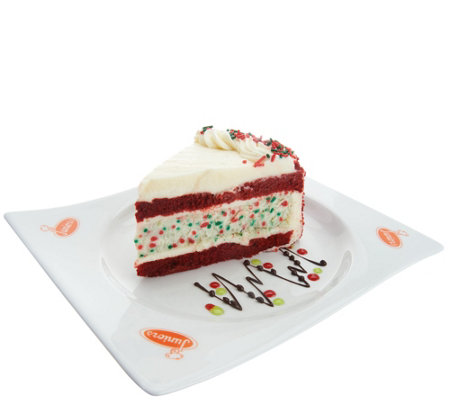SH11/5 Junior's 6.5-lb Holiday Cheesecake Layer Cake Sampler