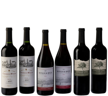Royal Reds 6-Bottle Set by Vintage Wine Estates