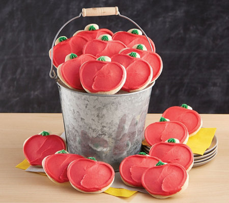Cheryl's Apple Bucket - 16 Cutout Cookies