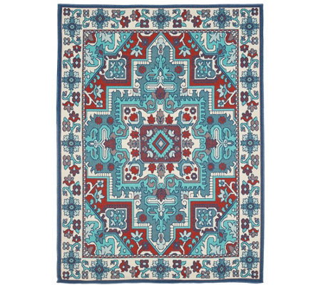 Veranda Living 5' x 7' Indoor/Outdoor Tradtional Rug
