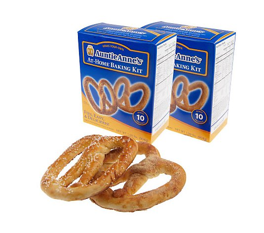 Auntie Anne's (2) Pack At-Home Baking Kits