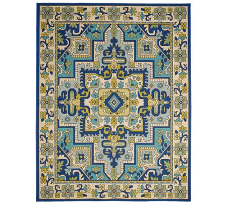 Veranda Living 7 X 10 Traditional Tile In Outdoor Rug Page 1