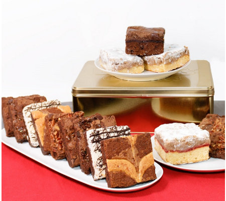 David's Cookies 15-Piece Brownie & Crumb Cake Assortment