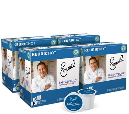 Keurig 72 Ct Emeril S Big Easy Bold K Cup Pods