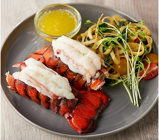 Greenhead Maine (16) 3.4-oz Maine Lobster Tails w/ 16-oz Butter