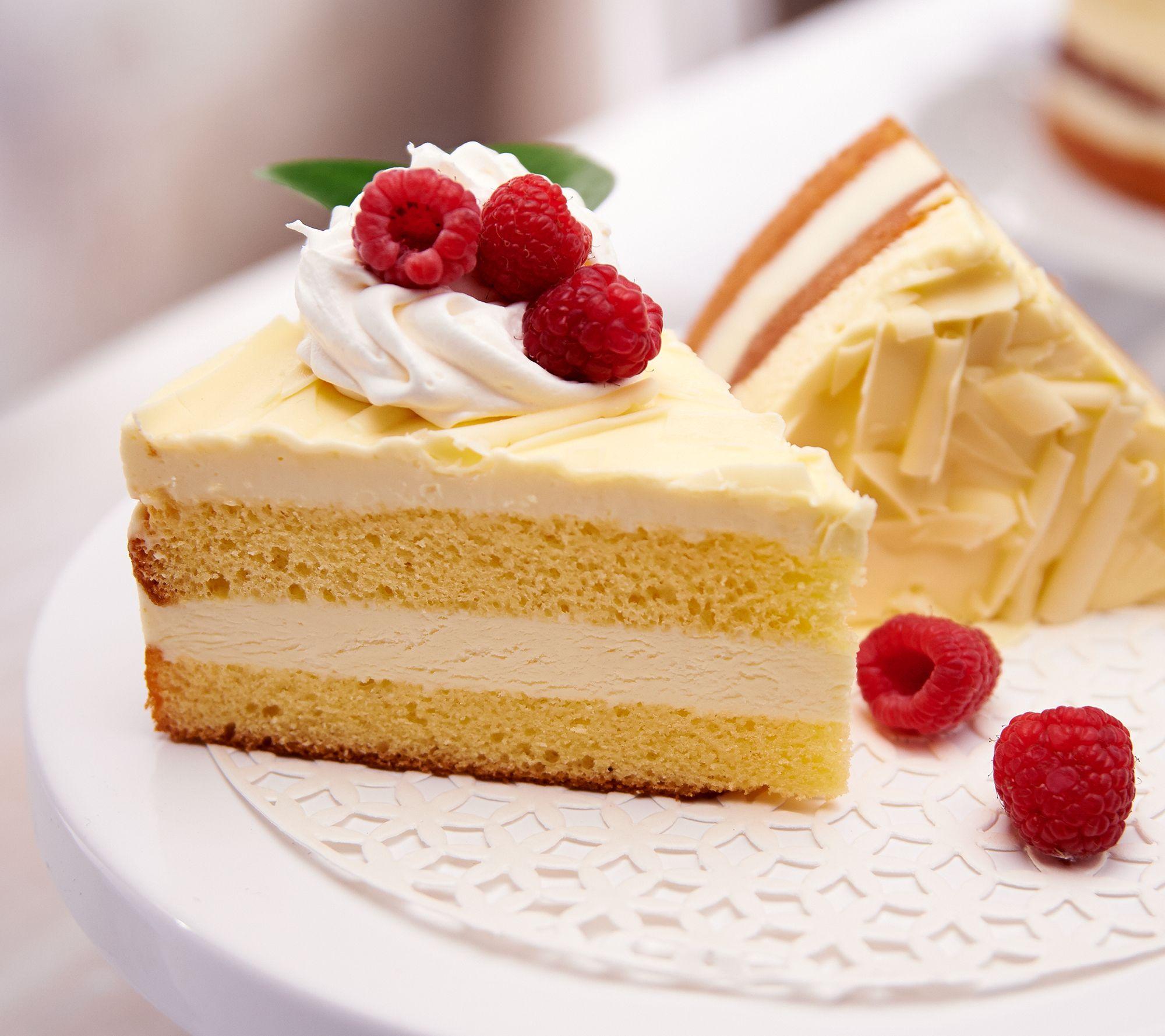Delizioso Desserts 3 25 Lb Limoncello Cake Qvc Com