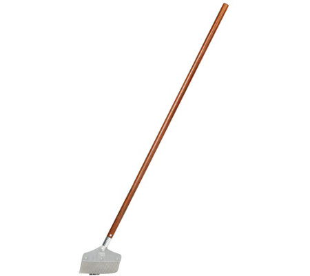 Nisaku Stainless Steel Weeder w/ 4 ft Wooden Handle