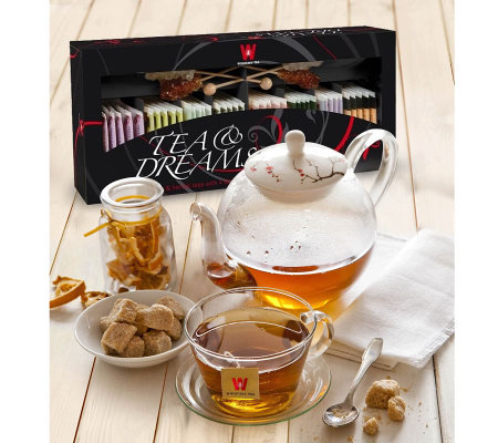 Wissotzky Tea and Dreams Collection with 40 Assorted Teas