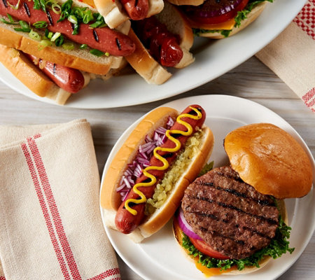 Kansas City (12) 4.5 oz. Steakburgers & (12) Hot Dogs Auto-Delivery