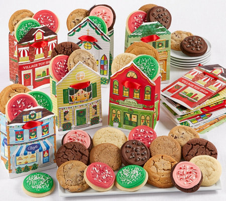 Ships 12 9 Cheryl S 36 Piece Holiday Cookies With Gift Bags