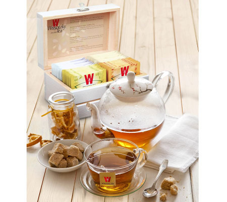 Wissotzky Tea Mini Magic Tea Chest With 32 Assorted Teas