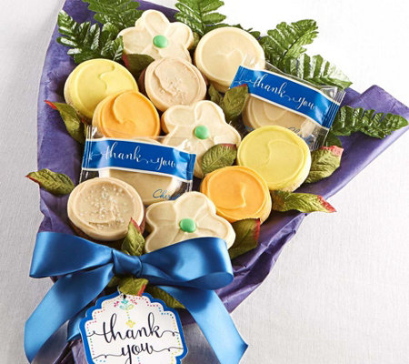Cheryl's Thank You Long-Stem Cookie Flowers
