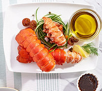 Greenhead Lobster (8) 5-6-oz Maine Lobster Tails w/ Butter - M60628