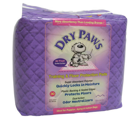 Dry Paws Training Pads - 30 pack