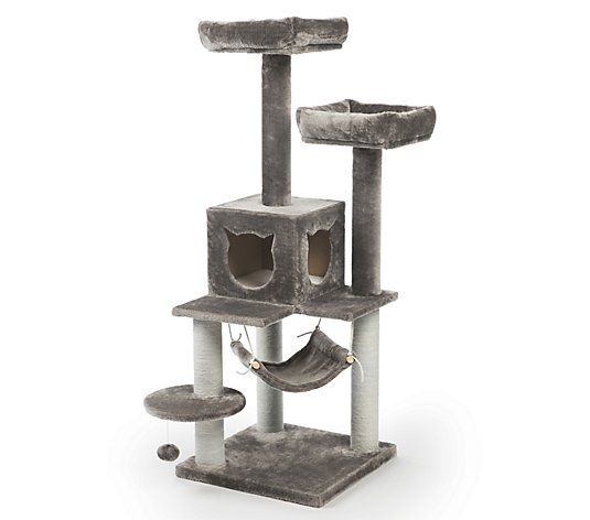 Prevue Pet Products Party Tower Gray 7310