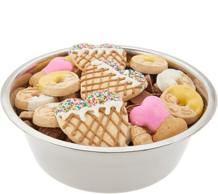 Claudia's Canine Bakery 48-oz Dog Bowl with Summer Treats