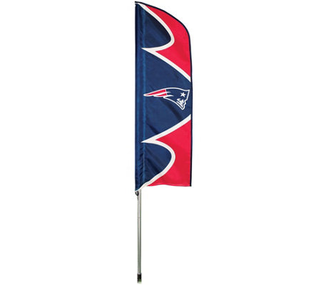 NFL Swooper Flag And Pole