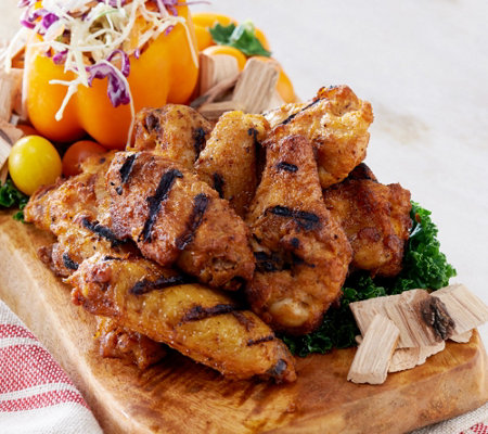 Corky's BBQ 4-lbs Seasoned Roasted Chicken Wings Auto-Delivery