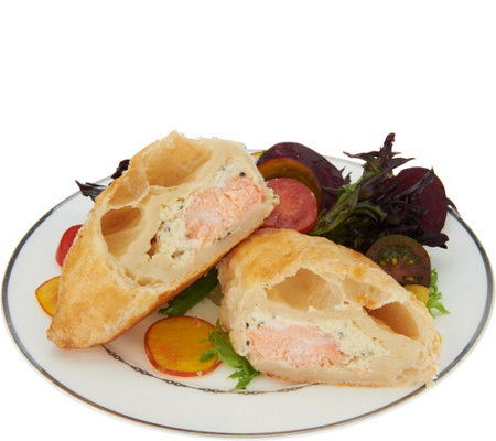 The Perfect Gourmet (8) 4 oz. Salmon Wellington