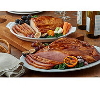 Ships 12/10 Corky's (2) 4.75-lb Hams, Turkey Breasts Or Combo - M60034