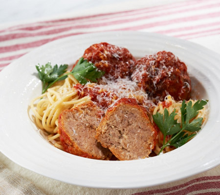 Davio's 6-lbs of Veal, Beef, & Pork 3-oz Meatballs with Sauce